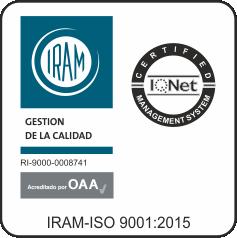 TINAGO-IRAM-ISO-9001